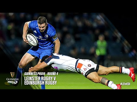 Guinness PRO14 Round 4 Highlights: Leinster vs Edinburgh
