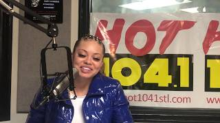 Mulatto Stops by ladies Night Radio With Princess Stormm.