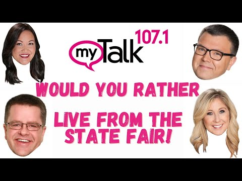 Jason and Alexis 'Would You Rather' live from the Minnesota State Fair!