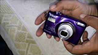 Nikon coolpix A10 review Point & Shoot Camera Unboxing