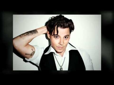Johnny Depp on magazine