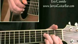 How To Play Eva Cassidy Danny Boy (preview only)