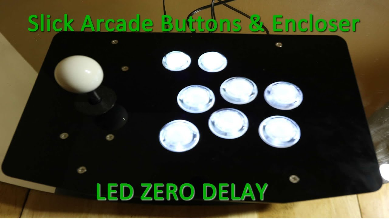 Building LED Arcade Stick with Kit - Best Cost to Performance