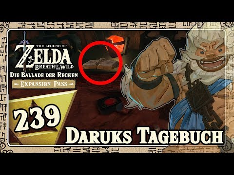 THE LEGEND OF ZELDA BREATH OF THE WILD Part 239: Daruks Tagebuch