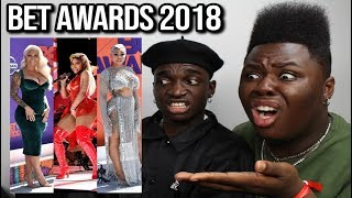 BEST & WORST DRESSED BET AWARDS 2018