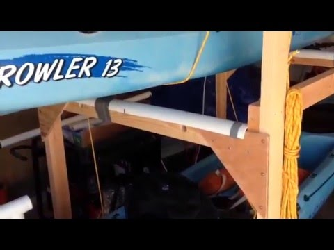 Diy Kayak Rack >> DIY kayak rack for short bed truck, rum and coke helps ...