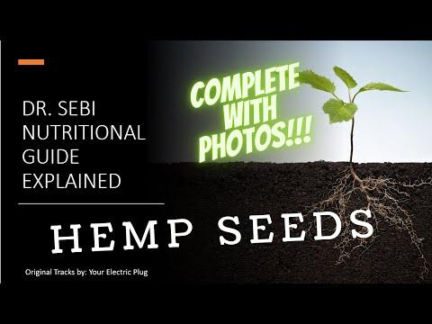 Hemp Seeds – Dr. Sebi Nutritional Guide Explained – Shorts –  YOUR ELECTRIC PLUG