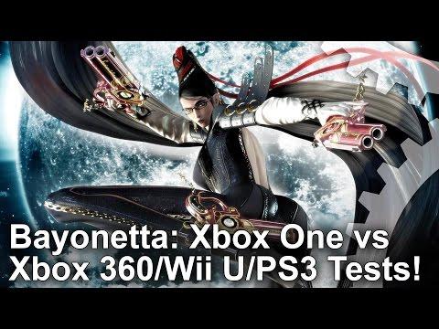 Bayonetta Xbox One Back-Compat vs Xbox 360/Wii U/PS3 Frame-Rate Test