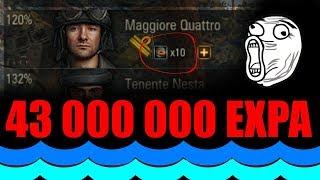 10 perków = 43 000 000 EXPA !!!