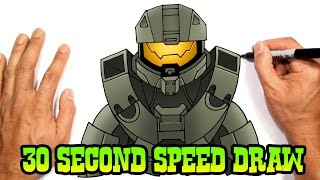 Master Chief (Halo 5)- Speed Draw Preview