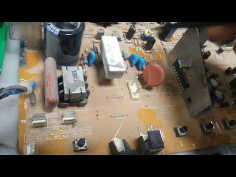 видео: фунай tv-1400a mk8 не включается (не выходит из дежурного режима)