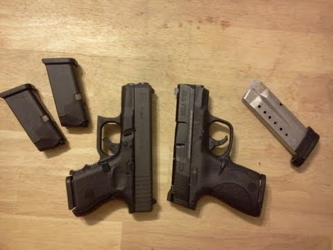 M And P Shield Vs Xds Glock 26 vs M&P Sh...