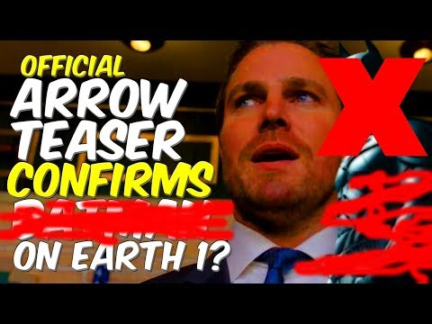 SPOILER! Arrow Teaser Confirms Major DC Character On Earth 1! Lets Talk!