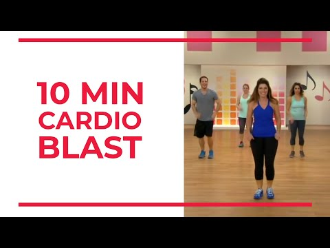 10 Minute CARDIO BLAST | At Home Workouts