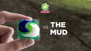 Can Ariel 3in1 Pods Beat The Mud?