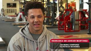 Nebraska QB Adrian Martinez on Coach Frost, Leadership, Patrick Mahomes & More | B1G Football