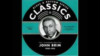 John Brim , It Was A Dream