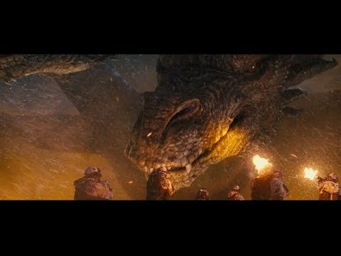 Godzilla: King of the Monsters (2019) King Ghidorah First Contact Scene