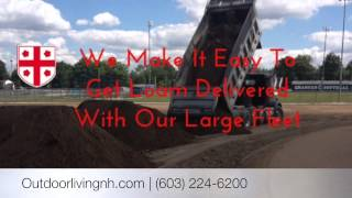 bulk loam and Topsoil for sale or delivery nh