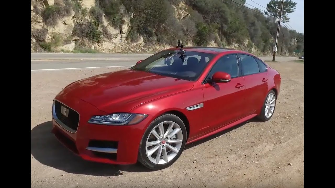 2016 Jaguar Xf 35t R Sport One Take