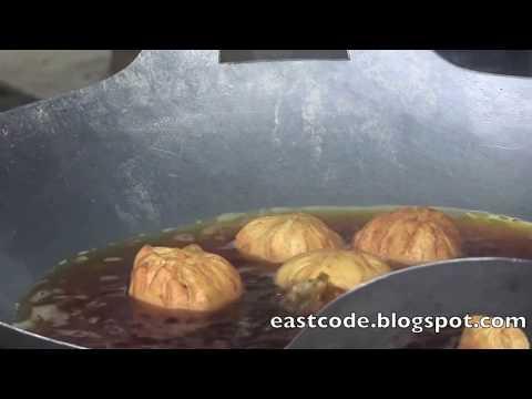 làm bánh bao chiên ngon  bánh quẩy   deep fried  bun and  fried bread stick 油条