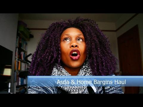 Asda & Home bargins Haul