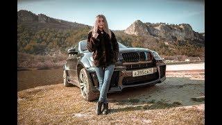 Сама сломала! Сама чини!) BMW x6m - Пушка!