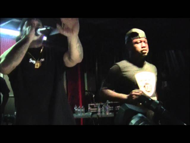 C.E.T.S Opening Up For Mobb Deep @ Simmons 677 in Providence, Rhode Island