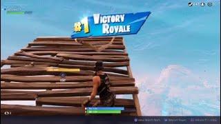 Fortnite Battle Royale - New Head Glitch Method Solo Gameplay