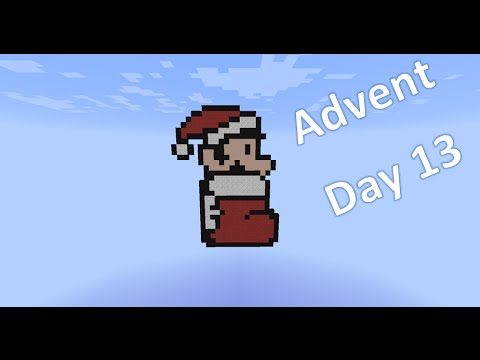 Minecraft Christmas Advent Calender Day 13 - Christmas Stocking