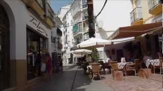 Nerja on foot