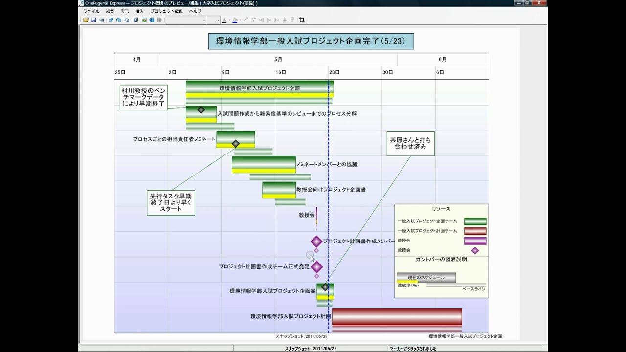MS Excelで工程管理 - YouTube : スケジュール グラフ : すべての講義