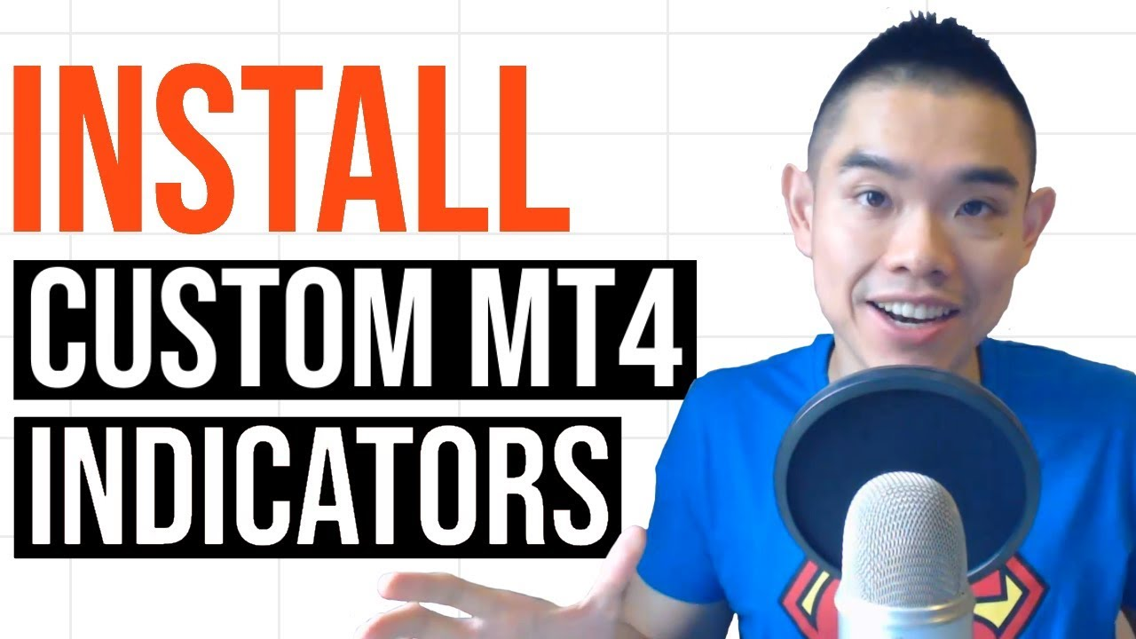 How To Install Custom Indicators On Mt4 Step By Step Guide Youtube
