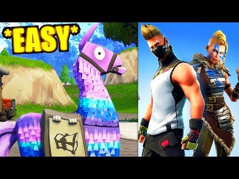 Fortnite: BEST Supply Llama Locations (100% Works) - Season 5 Fortnite Week Challenges
