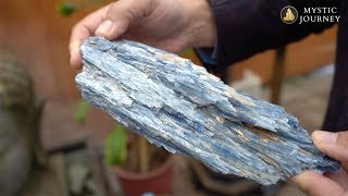 Jeff Segal Talks About Kyanite - A Crystal of Connection