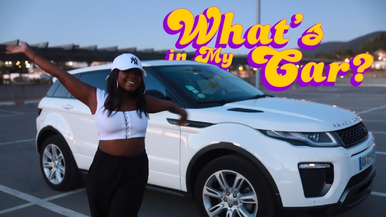 WHAT'S IN MY CAR ? | Range Rover Evoque