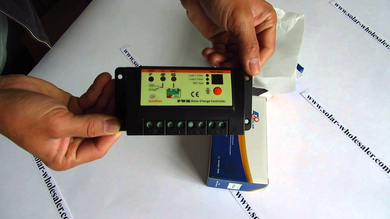 10a Ls1024rd15a Ls1524rd20a Ls2024rd Ep Landstar Solar Controller Pwm Charge Manual Buy For Two Lamp Youtube