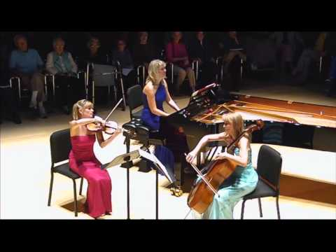 The Swan by Eroica Trio Arranged by Sara Sant'Ambrogio