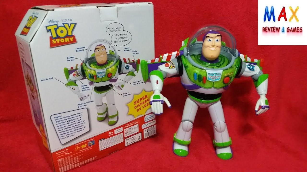 Toy Story Boneco O Poderoso Buzz Lightyear Original Fala Em