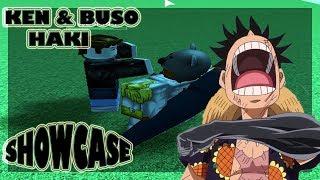 KEN & BUSO HAKI SHOWCASE| ONE PIECE MILLENIUM| ROBLOX