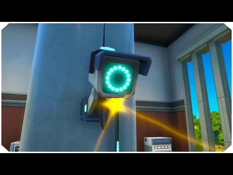 Destroy Sentry Cameras Or Sentry Turrets Location Guide - Fortnite