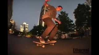 Ethernal Skate Films / Étienne Dumais: Line @ Square Victoria Street spot  / Montreal (Qc-Canada)