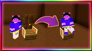 ✔สอนทำ | เก้าอี้สวยๆไว้นั่งเล่นง่ายๆ Minecraft PE (แบบใหม่)