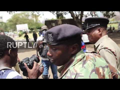 Kenya: Journalists cry police brutality as officers teargas anti-corruption protesters