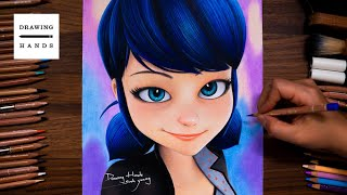 Drawing Miraculous Ladybug - Marinette [Drawing Hands]