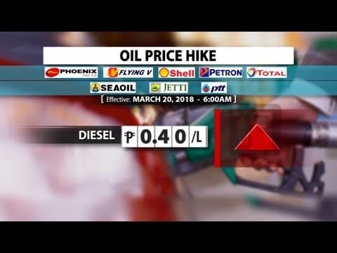 OIL PRICE HIKE | March 20, 2018