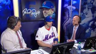 ICYMI: David Wright joins the SNY booth on his special night at Citi Field