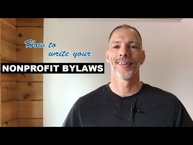 Write your Nonprofit Bylaws Sample Bylaws – Ngo Bylaws Template