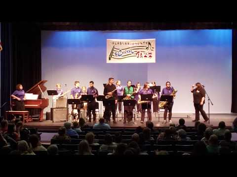 Buddy Taylor Middle School Jazz Band at the 2019 Flagler sCool Jazz Concert