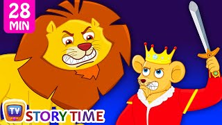 Lion & The Mouse | Plus Many More Bedtime Stories For Kids in English | ChuChu TV Storytime